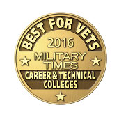 Military Times 2016 - Best for Vets - Career & Technical Colleges Badge