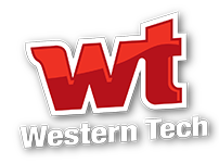 Western Tech Stacked Logo - El Paso, TX