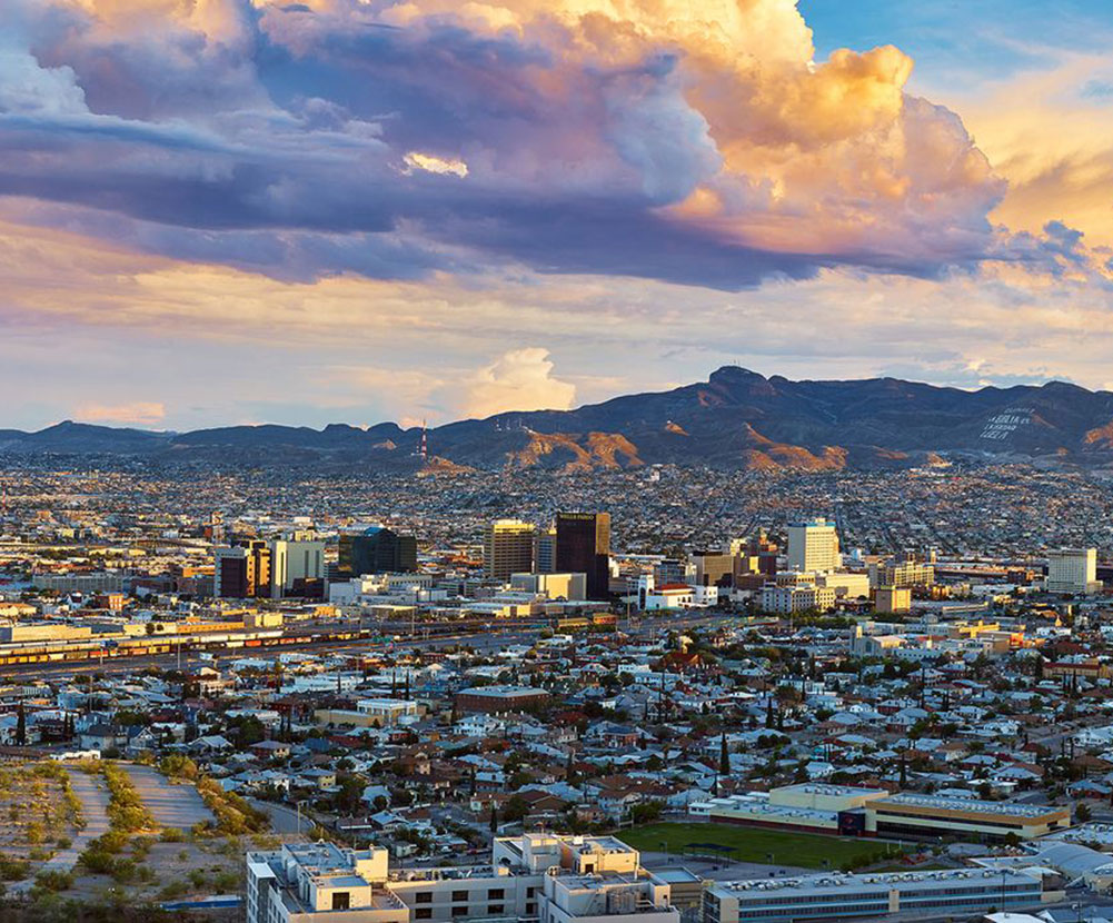 About Western Tech - El Paso, TX City Skyline Photo