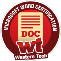 Business Badge - Microsoft Word