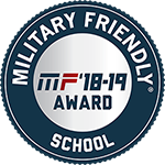 Military Friendly School Badge - MF'18-19 Award