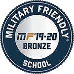 Military Friendly School Badge - MF'19-20 Bronze Award